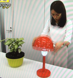 ライト付きヘルメット01