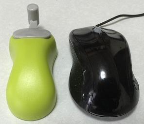 マウスとの比較