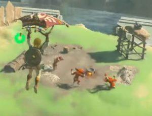 凧で敵陣に突っ込みます