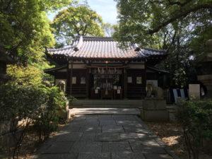 安居神社社殿