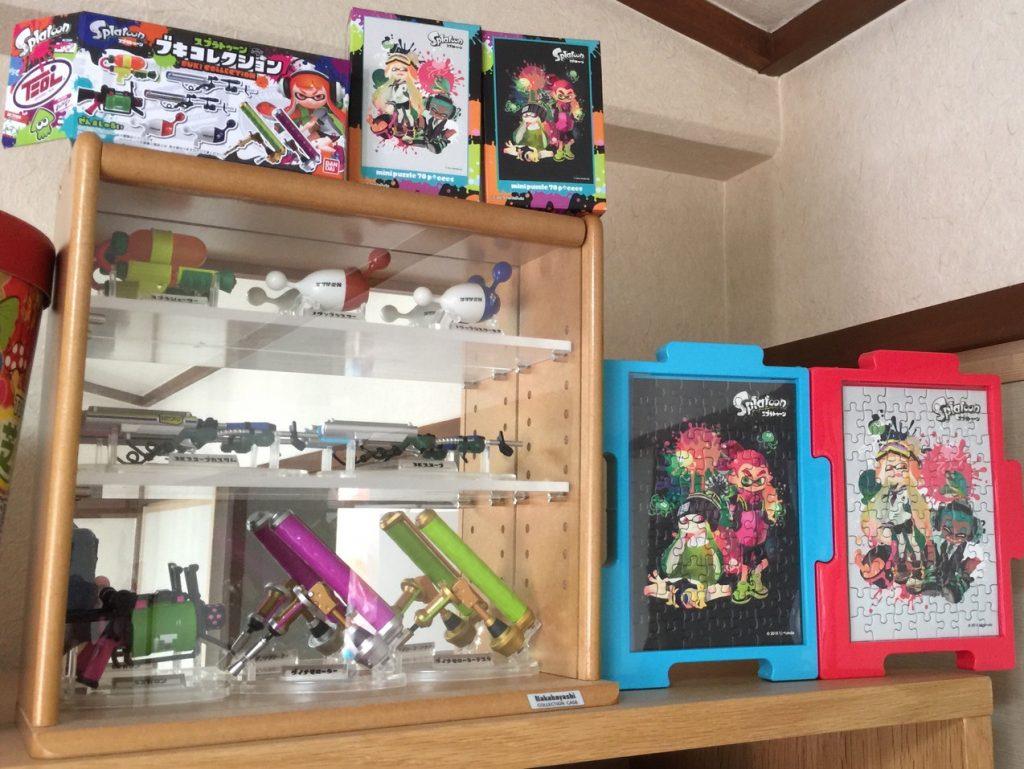 パズルとブキコレクション