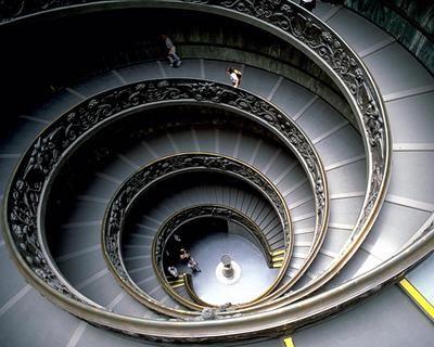 バチカンの螺旋階段