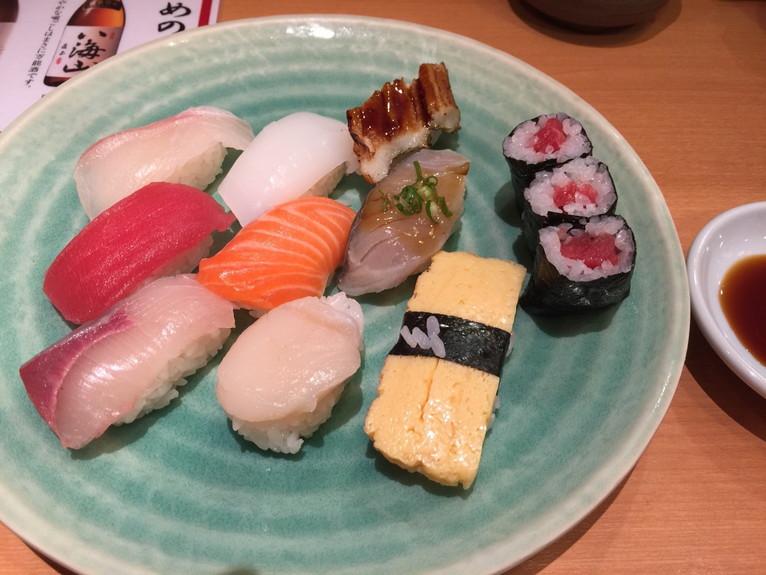 まる寿司サービスセット998円