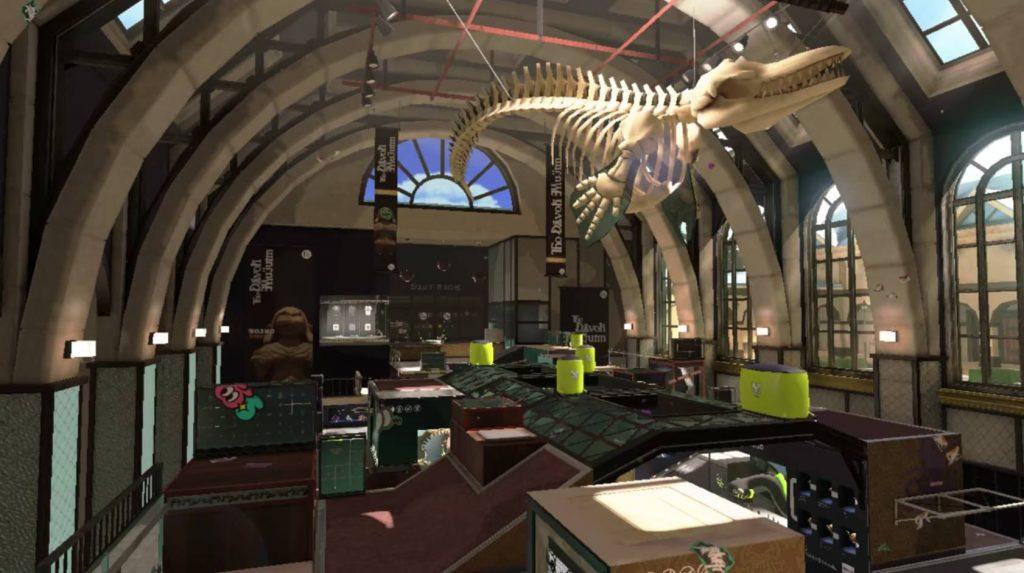 スプラ2新ステージ博物館