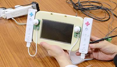 WiiUコントローラ試作