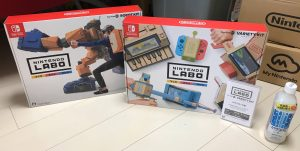 NintendoLabo商品の外観