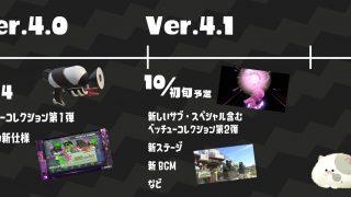 Ver4の10月スケジュール